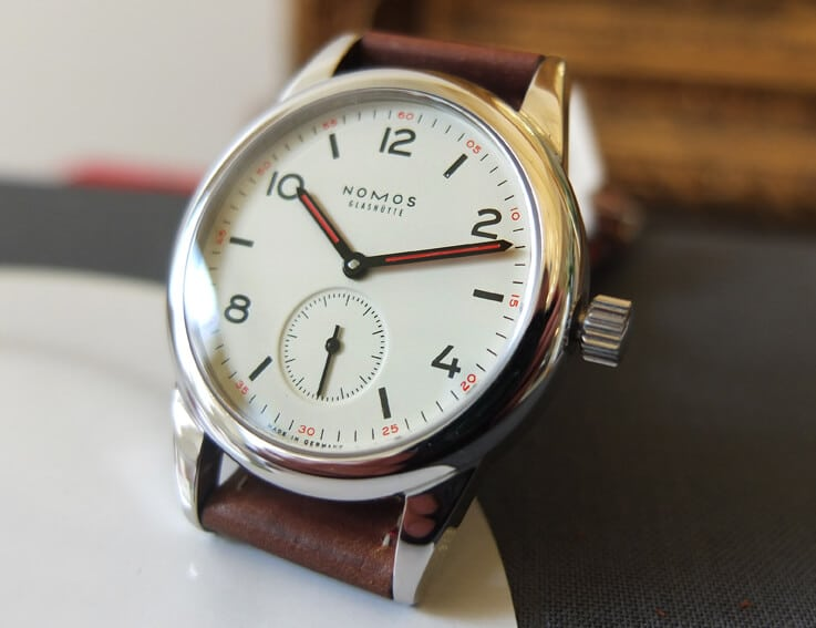 nomos club watch