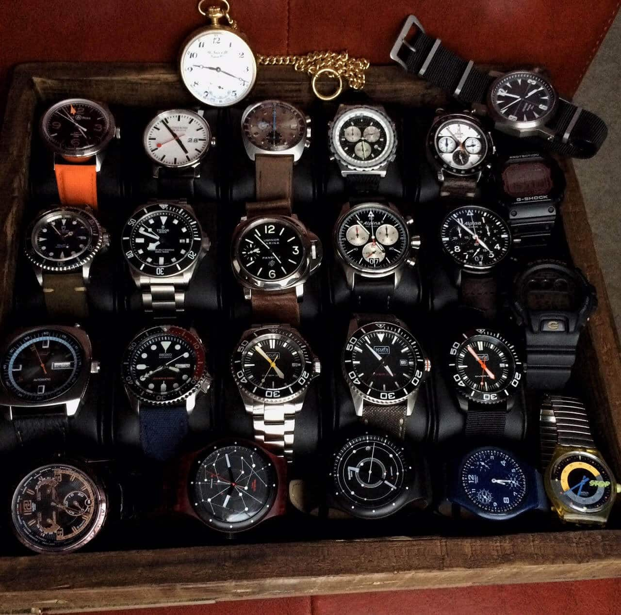 Favorite Watches of @Jeep99Dad