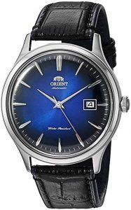 Orient Bambino Version IV Japanese Automatic Stainless Steel and Leather Dress Watch