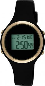 Moulin Ladies Digital Jelly Watch – Black