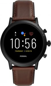 Fossil Gen 5 Carlyle Stainless-steel Smartwatch