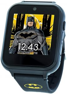 DC Comics Touchscreen digital watch with silicone strap