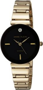 Anne Klein Women's Diamond Accented Bracelet Watch