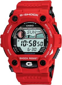 G-Shock G-Rescue Series Red Dial Men's Watch