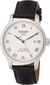 Tissot Men's Analogue Automatic Watch with Leather Strap