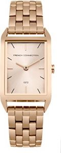 French Connection Analog Rectangle dial women's watch