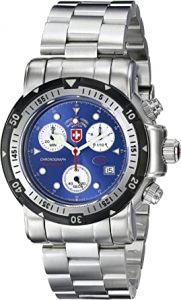 CX Swiss Military Solid Nickel-Free Diving Chronograph Watch