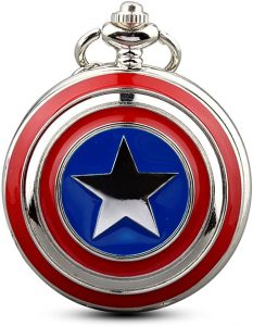 GORBEN Men's Five-pointed Star America Pocket watch