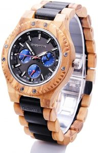Bedate Men's Wooden Watch