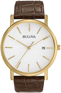Bulova Men's Classic Gold-Tone Watch