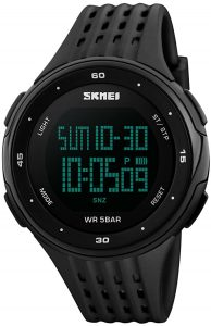 SKMEI Men's sports watch military digital LED large face watch