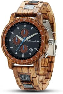 SHIFENMEI Men's Wooden Watch 5573