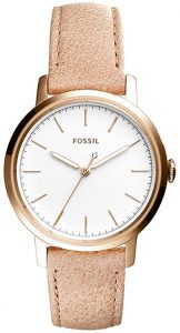 Fossil Q Women's Neely Stainless-Steel and Leather