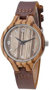 TJW Women Wood watch