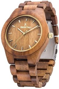 WOGREZ Men's Wooden watch