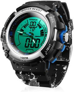 Tekmagic Waterproof Digital Scuba Diving Watch