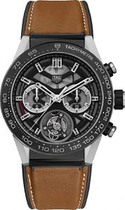 Tag Heuer Carrera Brown Calf Skin