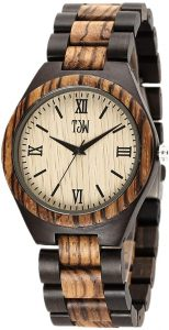 TJW Men Wood watch