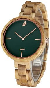 CZOKA Wooden Watch for Women
