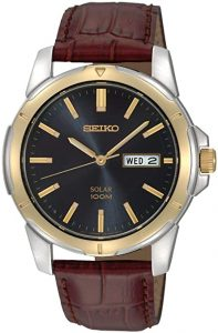 Seiko SNE102 Stainless-steel Solar Watch