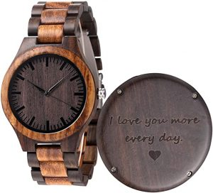 FODIYAER Wood watch for Men