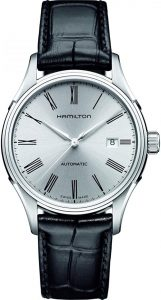 Hamilton Valiant Automatic Self Wind Stainless-Steel and Leather Watch