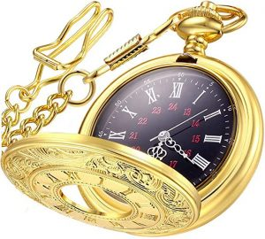 LYMFHCH Women's Vintage Pocket Watch