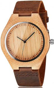 CUCOL Men's Wooden watch
