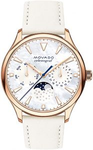 Movado Women's Heritage Rose Gold Watch