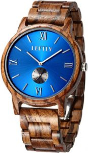 LEFTLY Men's Wooden Watch Handmade