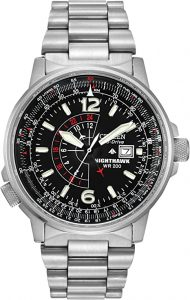 Citizen Eco-Drive Promaster Nighthawk Dual Time Watch