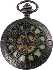 Carrie Hughes Men's Vintage Mechanical pocket watch