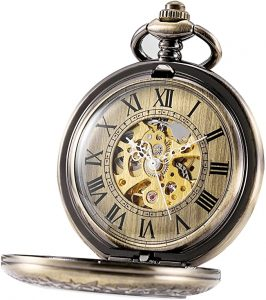 Treeweto Automatic Mechanical pocket watch