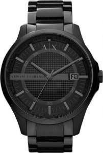 Armani Exchange Classic Stainless-Steel Watch