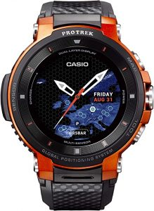 Casio Pro Trek Touchscreen Outdoor Smart Watch