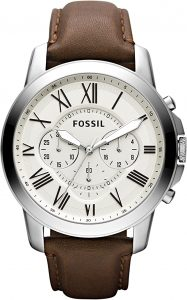Fossil-Fossil Men's Grant Stainless Steel