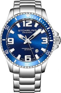 Stuhrling Original Men's Swiss Quartz Stainless Steel Watch