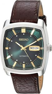Seiko Solar Recraft Stainless-Steel and Leather Watch