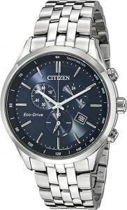 Citizen Eco-Drive Chronograph Stainless Steel Watch